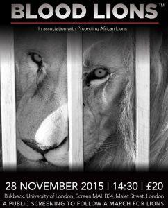 Blood Lions London 2