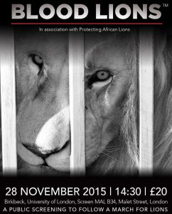 Blood Lions London 2