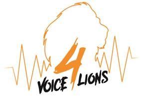 Voice4Lions Logo